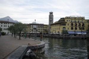 Riva del Garda si centrul sau