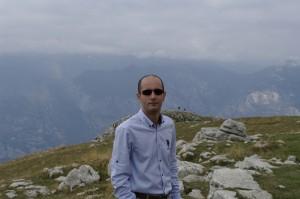 Sus pe munte, pe Monte Baldo