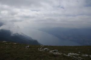 Lacul Garda vazut de sus