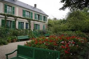 Casa roz a lui Claude Monet