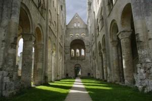 Ruinele Manastirii Jumieges