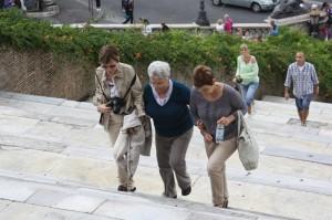 La trepte bunica avea nevoie de putin ajutor