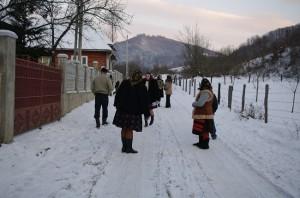 La plimbare prin Barsana