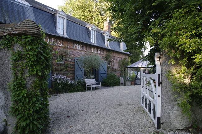 Poarta de intrare pe Domeniul Bois des Moutiers