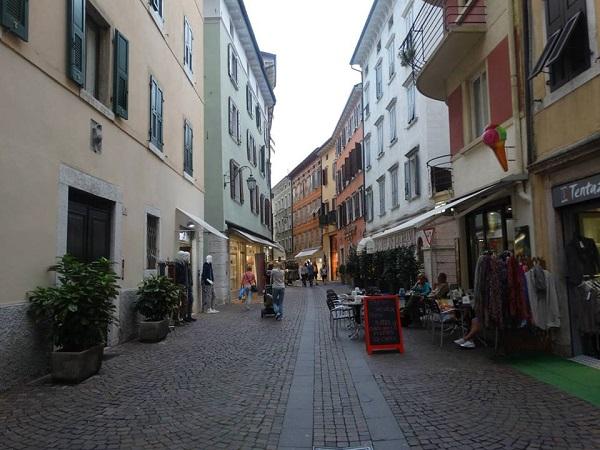 Pe stradute in Riva del Garda