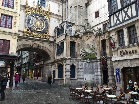 Rouen - Turnul cu ceas