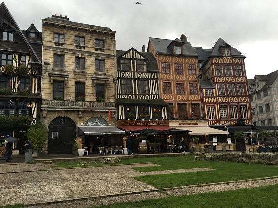 Rouen - Place de Vieux Marche