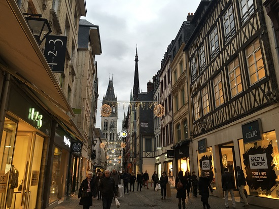 Rouen mai pe inserat