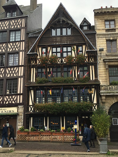 Rouen - Restaurantul La Couronne