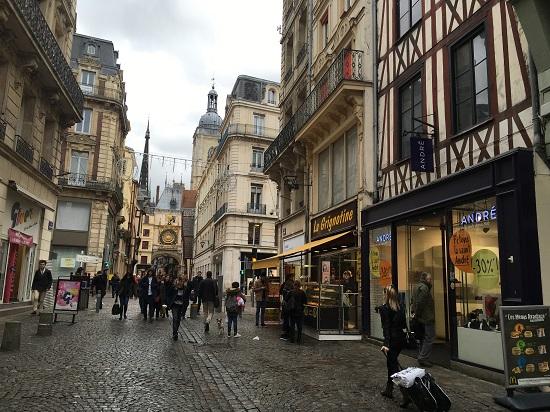 Rouen - pe stradute