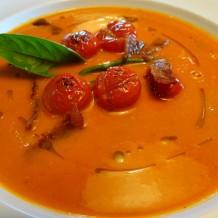 Supa crema din rosii coapte in cuptor