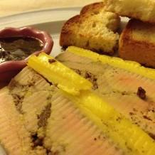 Terina de foie gras cu smochine si vin de Porto